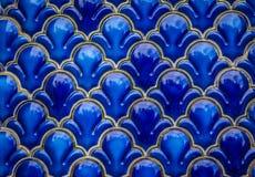 Blue Orthodox Church ornament Stock Image