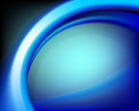 Blue oval background Royalty Free Stock Image