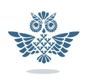 Blue owl Royalty Free Stock Photos