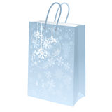 Blue package Royalty Free Stock Photos