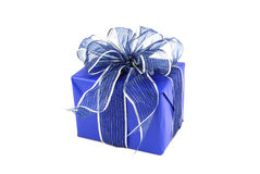 Blue Package Stock Image