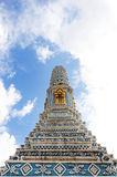 Blue pagoda Royalty Free Stock Images