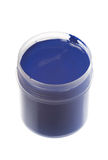 Blue paint Royalty Free Stock Photo