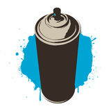 Blue paint. Vector illustration, you can download addition eps format vector illustration