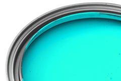 Blue paint royalty free stock photos
