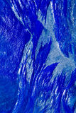 Blue paint abstract texture background Royalty Free Stock Images
