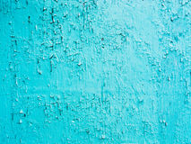 Blue paint background grungy cracked and chipping Stock Photos