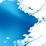 Blue paint Royalty Free Stock Photos