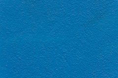 Blue paint concrete Stock Images