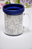 Blue Paint Me mug Royalty Free Stock Images