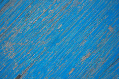 Wood. Blue paint old rust wood texture Stock Images