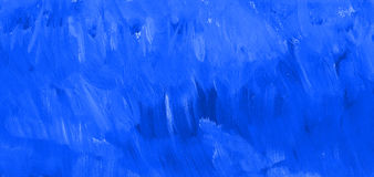 Blue paint texture. Hand drawn background. royalty free stock image