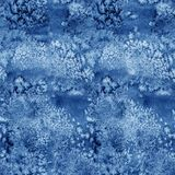Blue paint watercolor seamless water color texture pattern. Blue paint watercolor seamless water color texture with spots and streaks stock photography