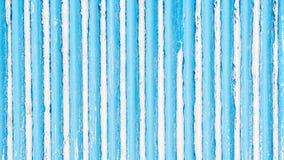 Blue painted aluminium wall Royalty Free Stock Photo