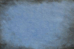 Blue painted artistic canvas background Royalty Free Stock Image