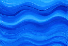 Blue painted background Stock Photography