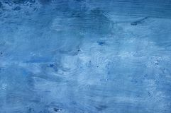 Blue painted background Royalty Free Stock Images