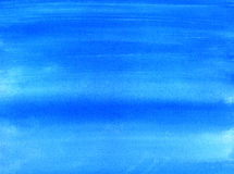 Blue painted background. Stock Photo