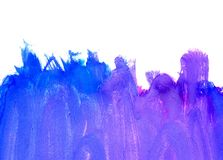 Blue Painted Background Royalty Free Stock Photo