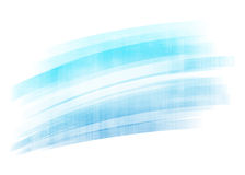 Blue painted brush stroke background Royalty Free Stock Photography