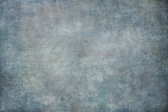 Blue painted canvas or muslin backdrop Royalty Free Stock Image