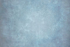 Blue painted canvas or muslin backdrop Royalty Free Stock Photography