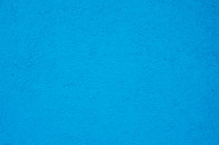 Blue Painted Concrete Background. Turquoise blue painted concrete or cement  surface to be used as background Royalty Free Stock Photo