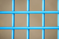 Blue painted grid Royalty Free Stock Photography