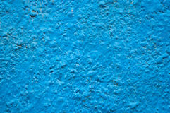 Blue painted grunge wall surface texture Royalty Free Stock Photos