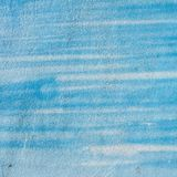 Blue painted material wall texture Royalty Free Stock Photography
