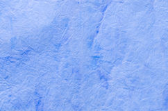 Blue painted paper tissue Stock Image