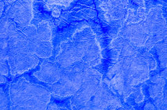 Blue painted paper tissue background Stock Photo