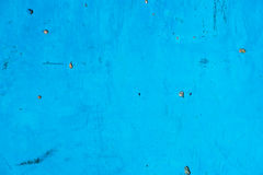 Blue painted surface background Royalty Free Stock Photography