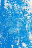 Blue painted surface background Royalty Free Stock Photos