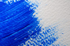 Blue painted surface Royalty Free Stock Images