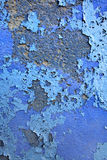 Blue painted wall royalty free stock photography