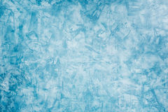 Blue painted wall Royalty Free Stock Photos