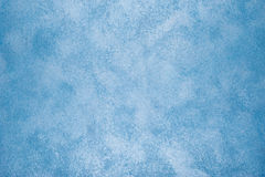 Blue painted wall texture Stock Image