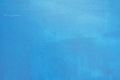 Blue painted wall texture background. Clean blue colored wall texture background Stock Photography