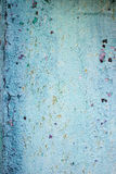 Blue painted wall texture Stock Photos