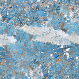 Blue painted wall texture Royalty Free Stock Images