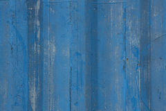 Blue painted wood background Stock Photo