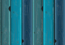 Blue painted wood background texture Stock Images