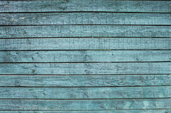 Blue painted wood boards texture Royalty Free Stock Images