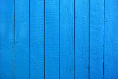 Blue Painted Wood Planks as Background or Texture. Natural Pattern Royalty Free Stock Image