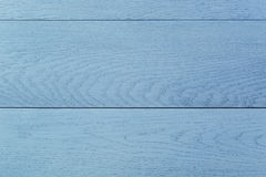 Blue painted wood table background Stock Photo