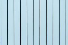 Blue Painted Wooden Board Wall Royalty Free Stock Photos