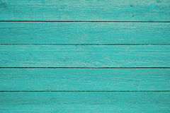 Blue painted wooden planks background texture. Blue Barn Wooden Wall Planking Wide Texture. Old Wood Slats Rustic Shabby Horizontal Background. Paint Peeled royalty free stock image