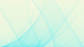 Abstract Blue aurora background effect illustration Stock Photography