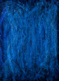 Blue painting background Royalty Free Stock Photos
